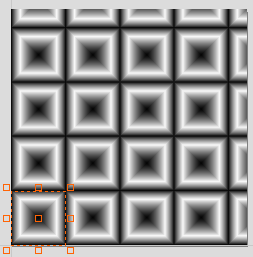 Pattern in Edit Texture Area Component Transform Box Appears