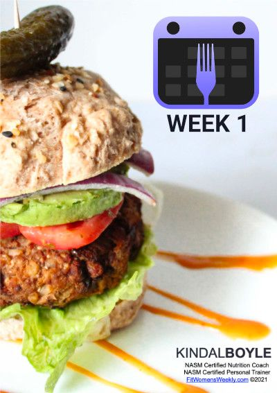 Plan Smart Eat Real free week 1 pdf cover.