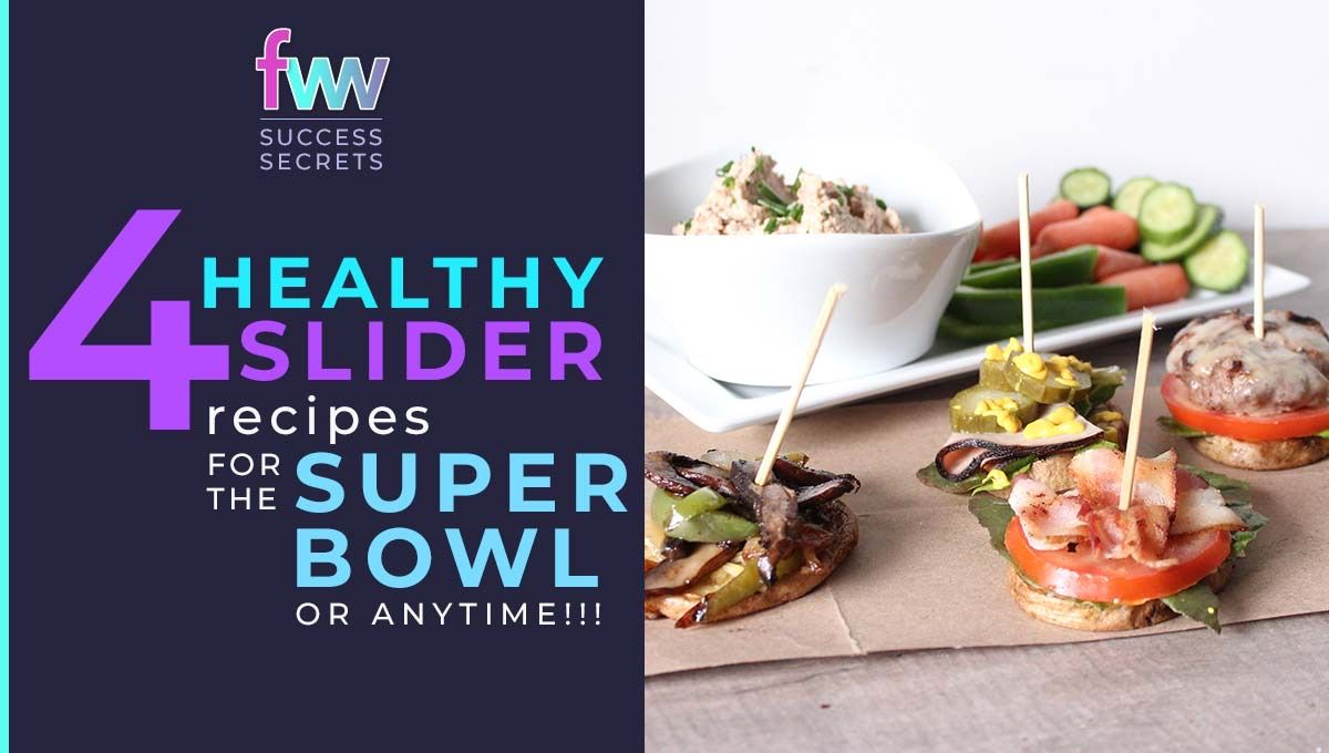 4 gluten free delicious sliders for your next party or get together.