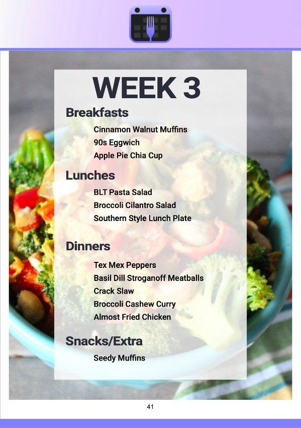 Plan Smart Eat Real Plans
