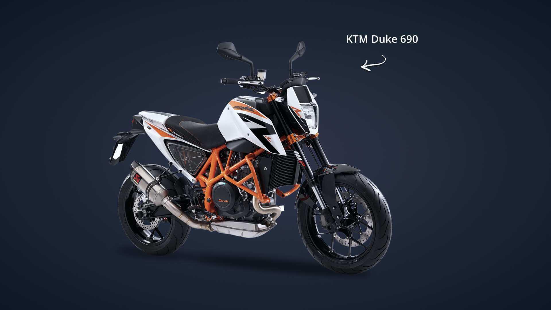 KTM Duke 690 volée et retrouvée grâce au traceur GPS Pégase Moto