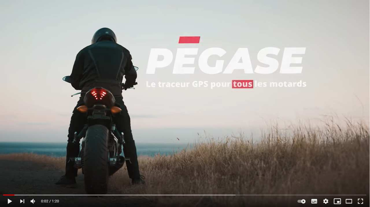 Protect your bike with our Pegase Moto GPS tracker