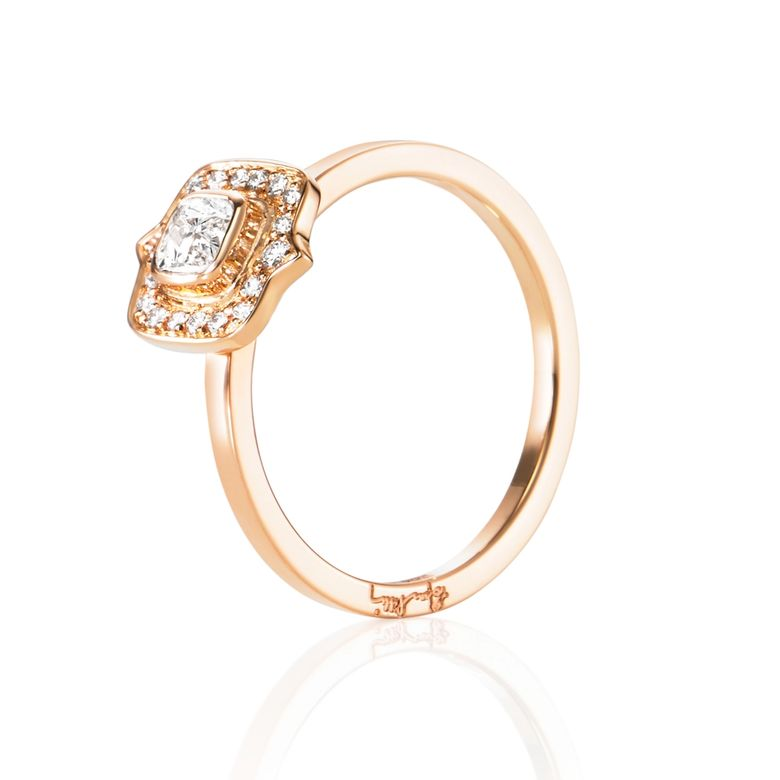 THE MRS RING 0.30 CT