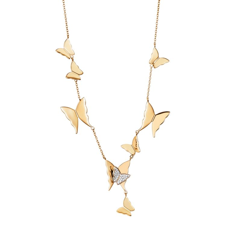 MISS BUTTERFLY AIR & STARS NECKLACE