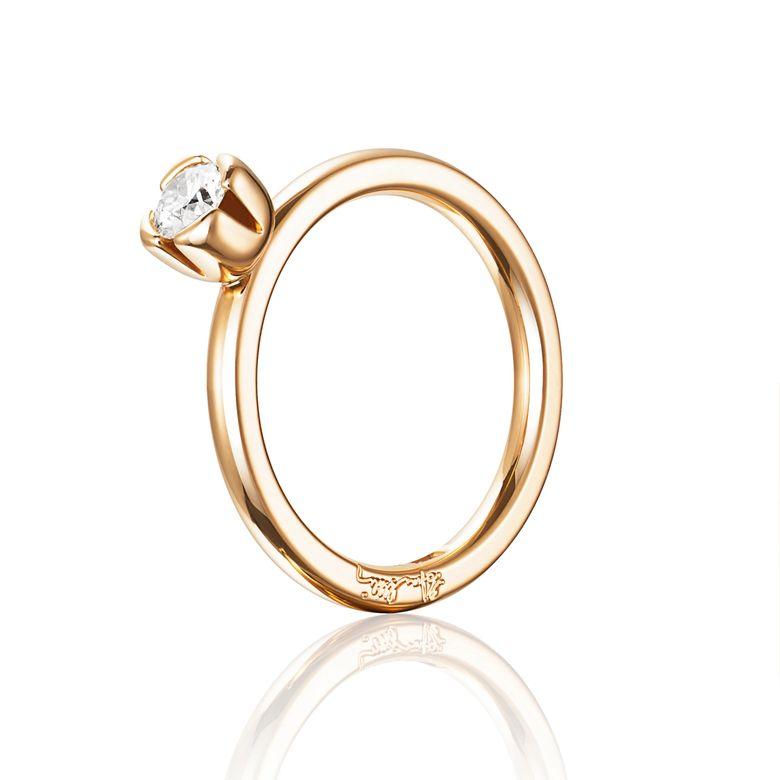 LOVE BEAD WEDDING RING 0.30 CT