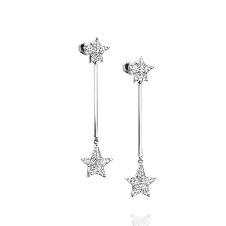 REACH THE STAR & STARS EARRINGS.