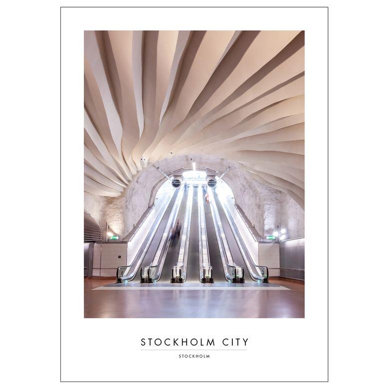 POSTER STOCKHOLM CITY