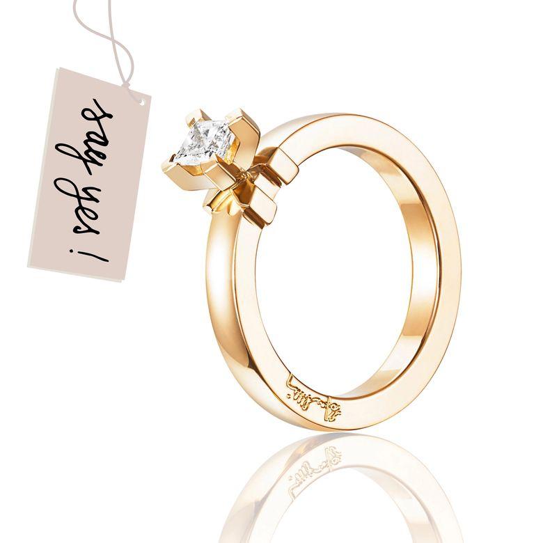 DOLCE VITA PRINCESS RING 0.30 CT