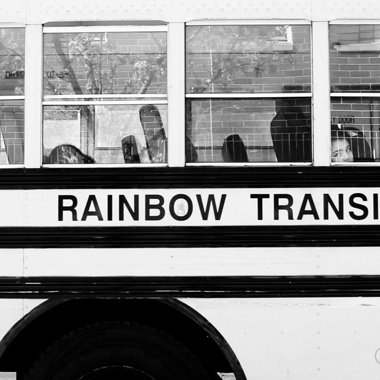 RAINBOW TRANSIT B:W