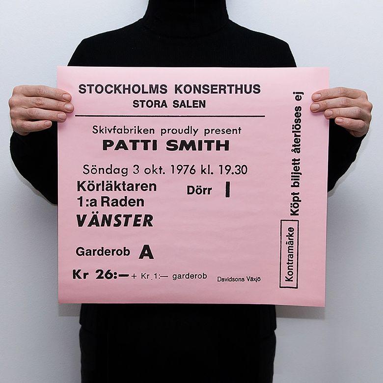 TICKET - PATTI SMITH