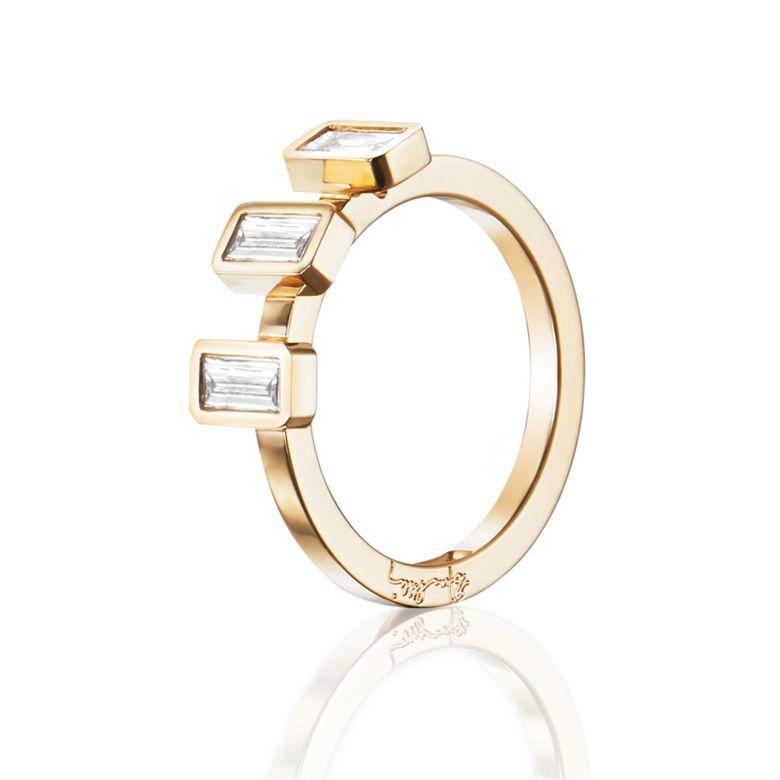 BAGUETTE WEDDING RING 0.60 CT