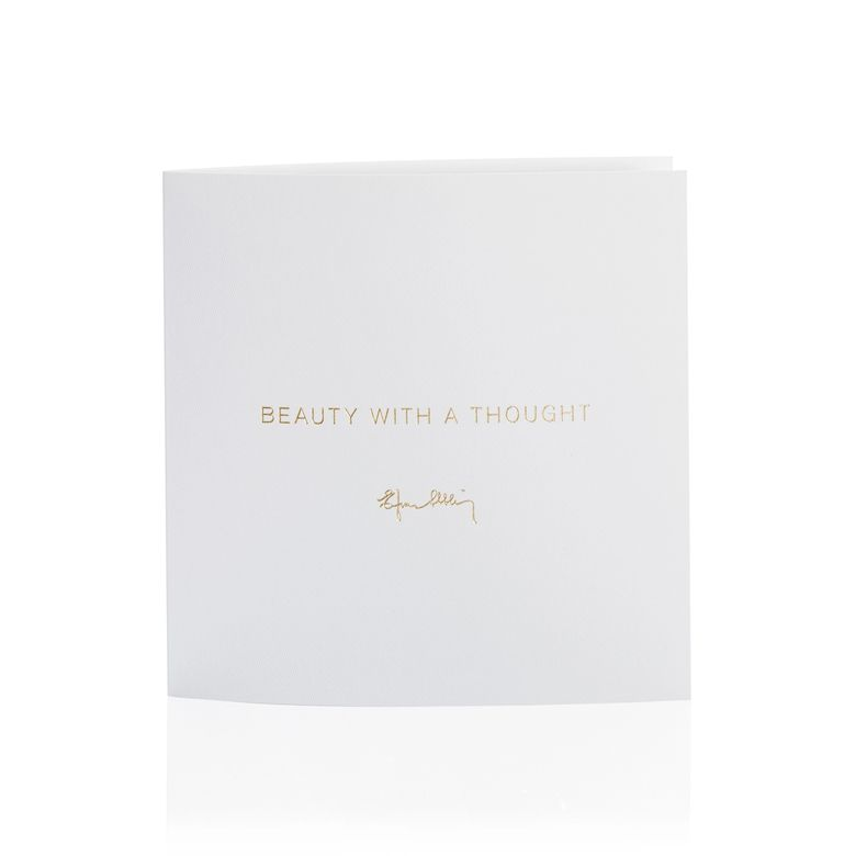 GREETING CARD - BEAUTY WITH A THOUGH