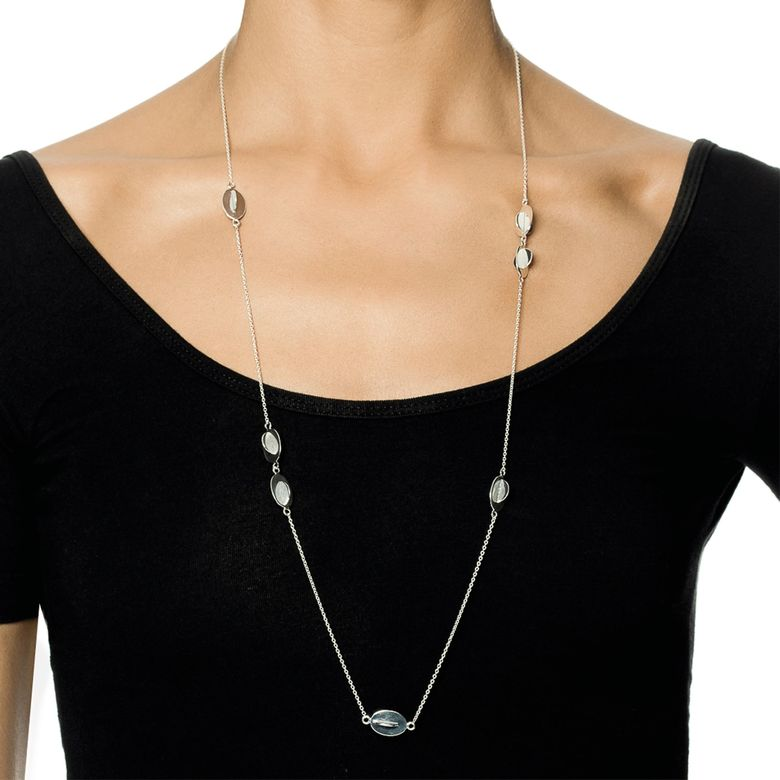 REFLECTIONS LONG NECKLACE