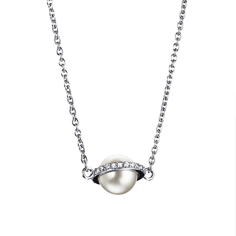 DAY PEARL & STARS NECKLACE
