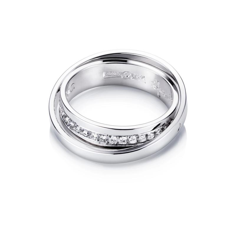 TWO OF US & STARS RING
