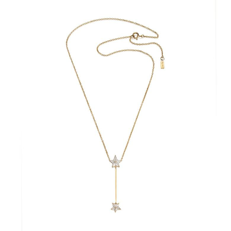 REACH THE STAR & STARS NECKLACE.