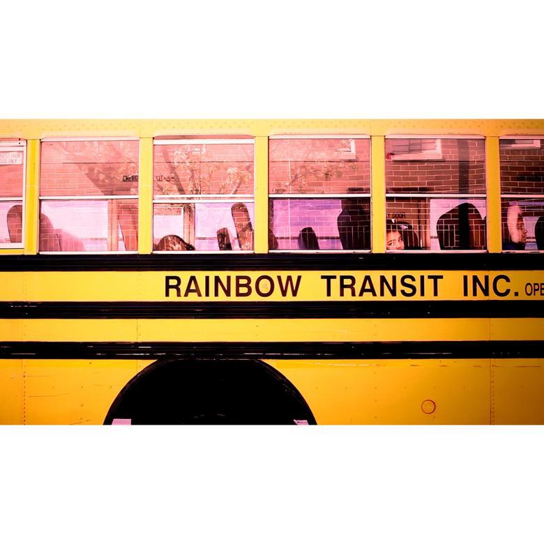 RAINBOW TRANSIT YELLOWPINK