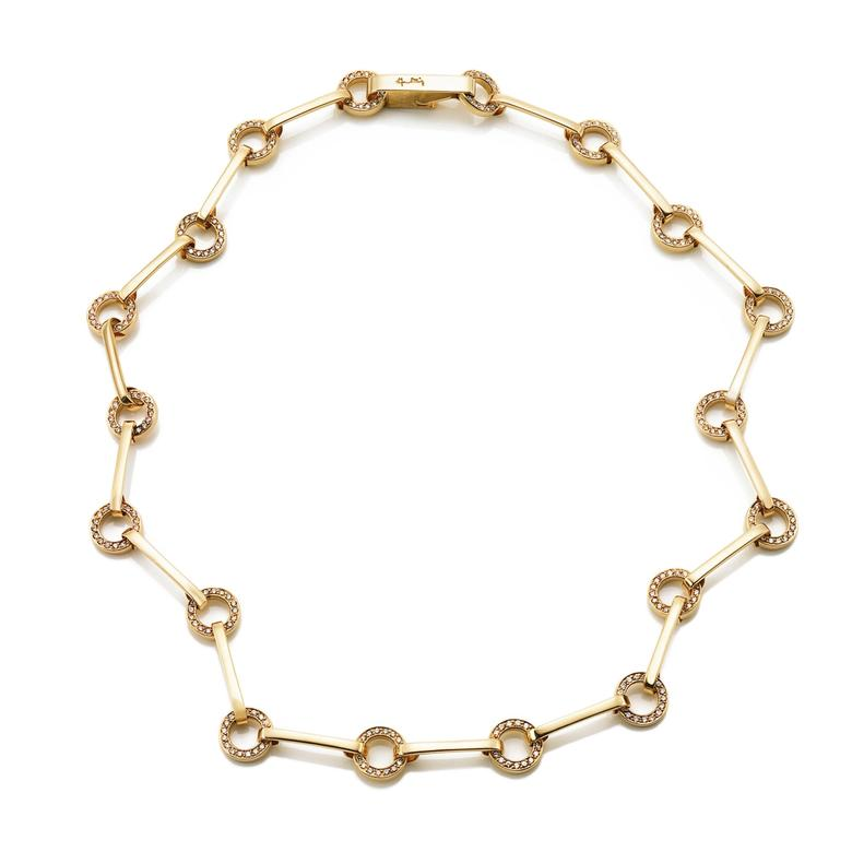 RING CHAIN & STARS NECKLACE