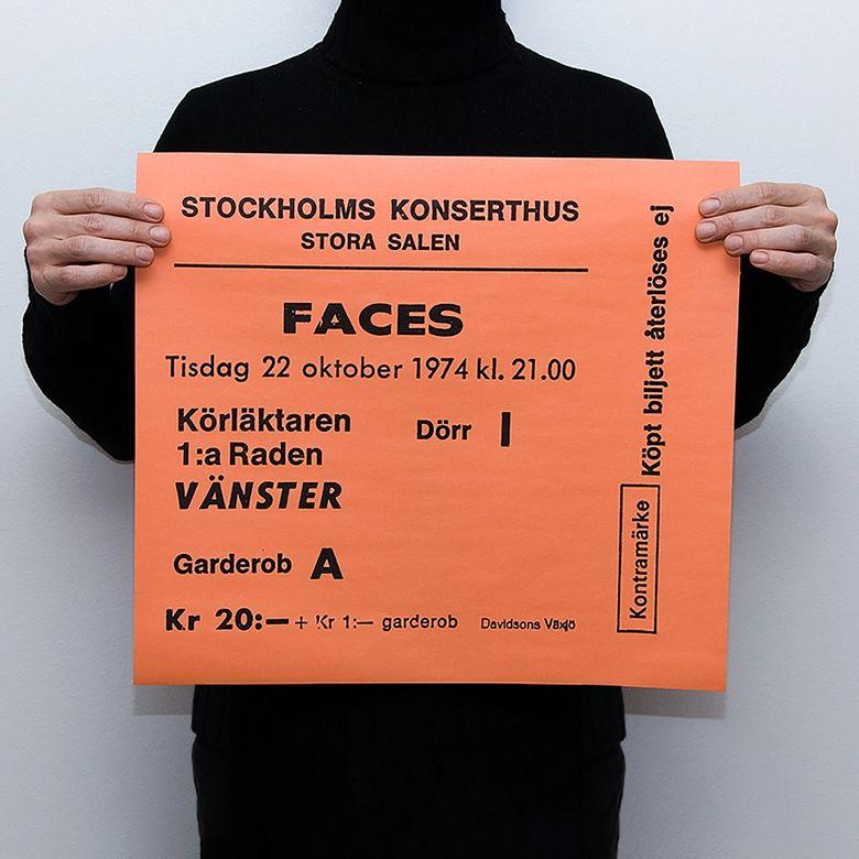 TICKET - FACES