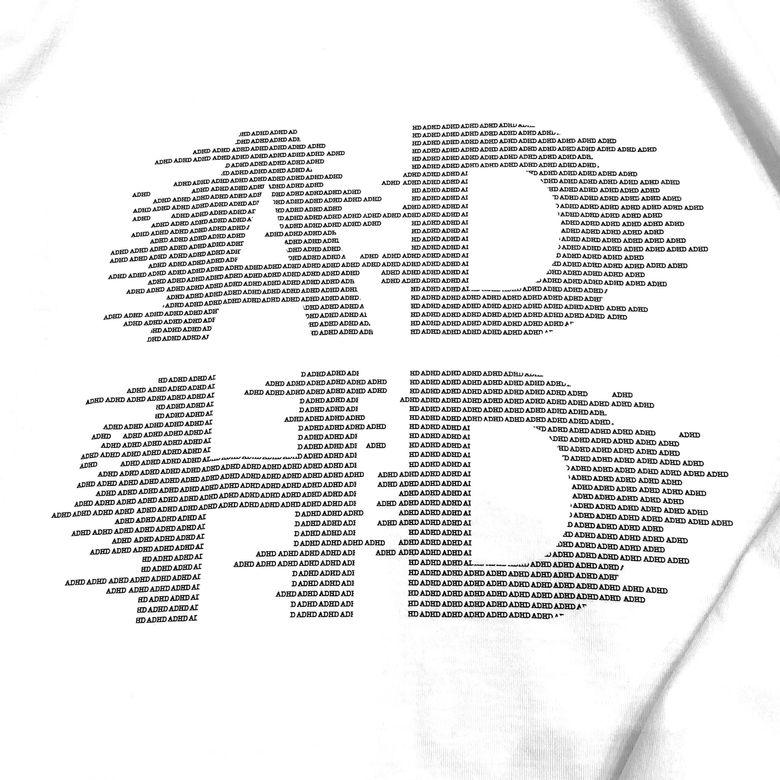 T-SHIRT ADHD - UNISEX