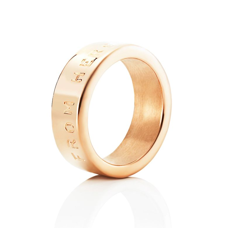 FROM HERE TO ETERNITY STAMPED RING