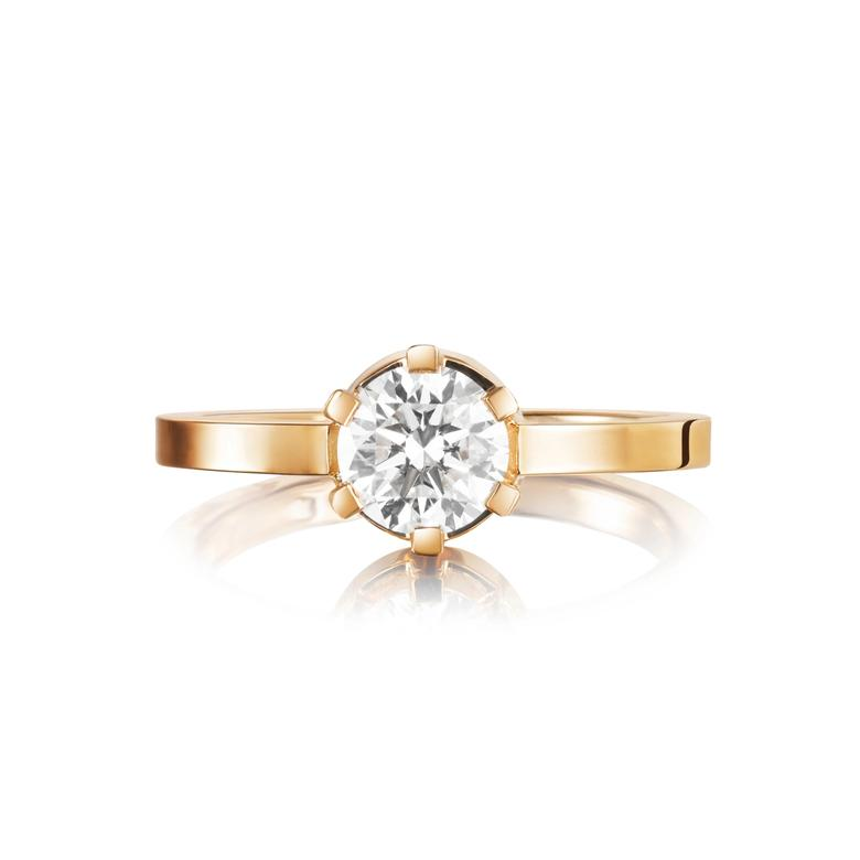 CROWN WEDDING RING 1.0 CT