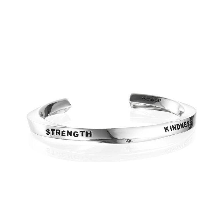 STRENGTH & KINDNESS CUFF