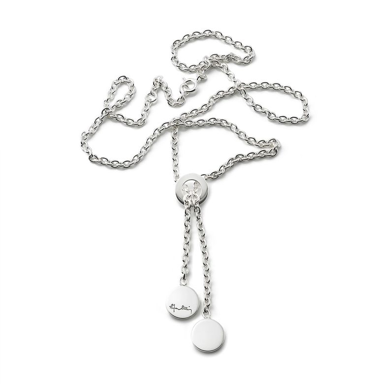 TWIN DOTS NECKLACE
