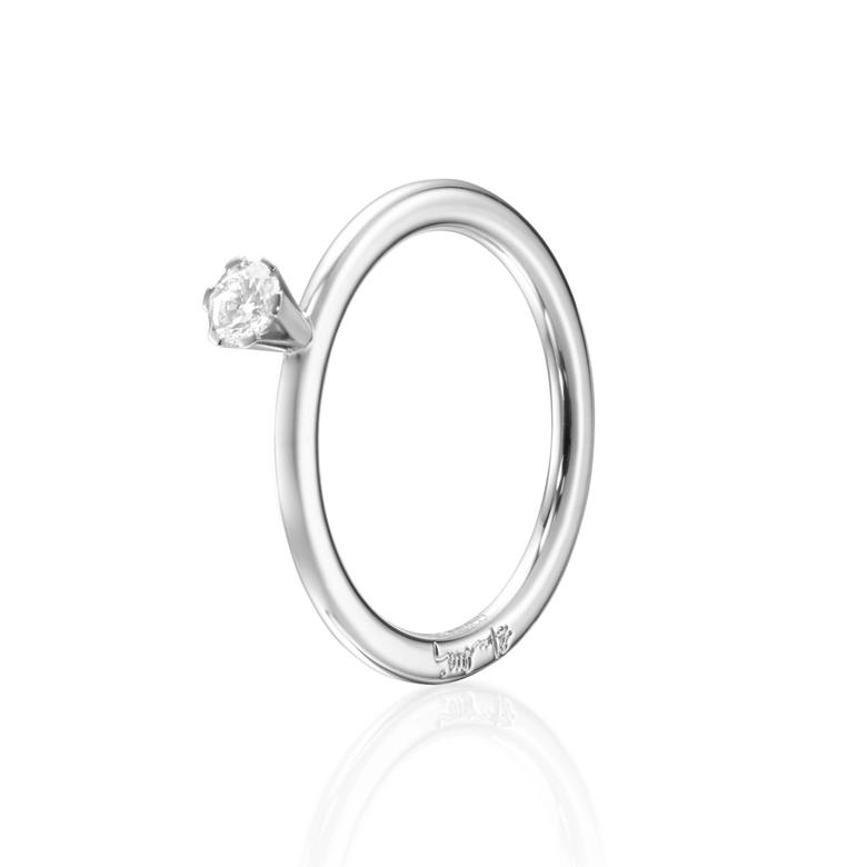 HIGH ON LOVE RING 0.19 CT
