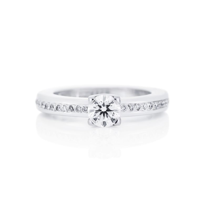 HEART TO HEART RING 0.50 CT