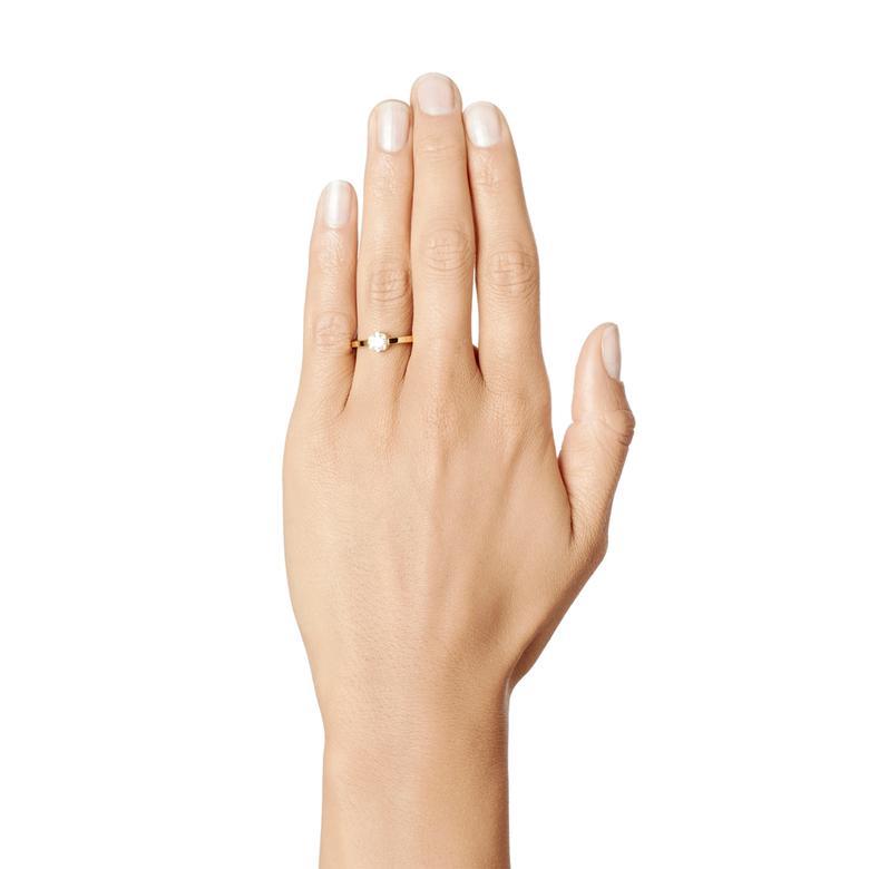 CROWN WEDDING RING 0.50 CT