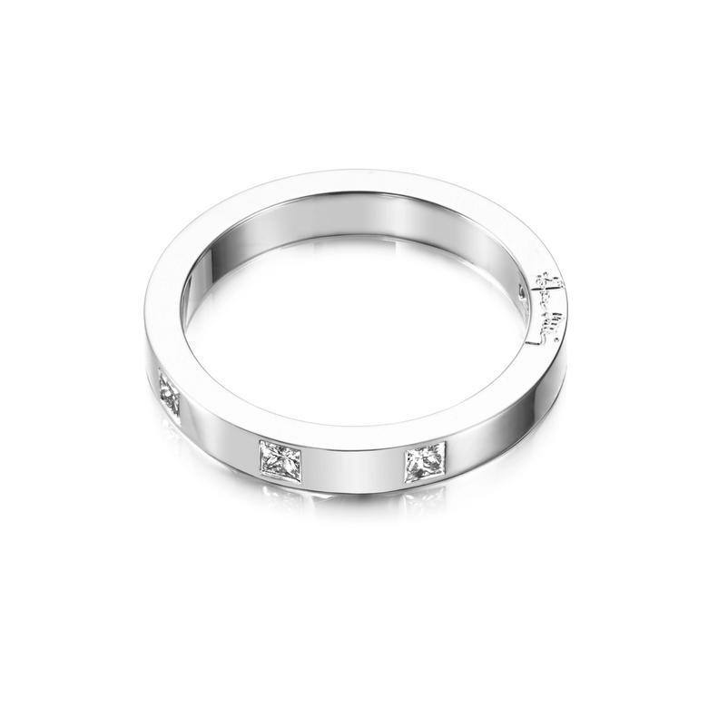 HIGH & I LOVE YOU ON TOP THIN RING