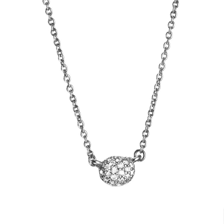 LOVE BEAD NECKLACE - DIAMONDS