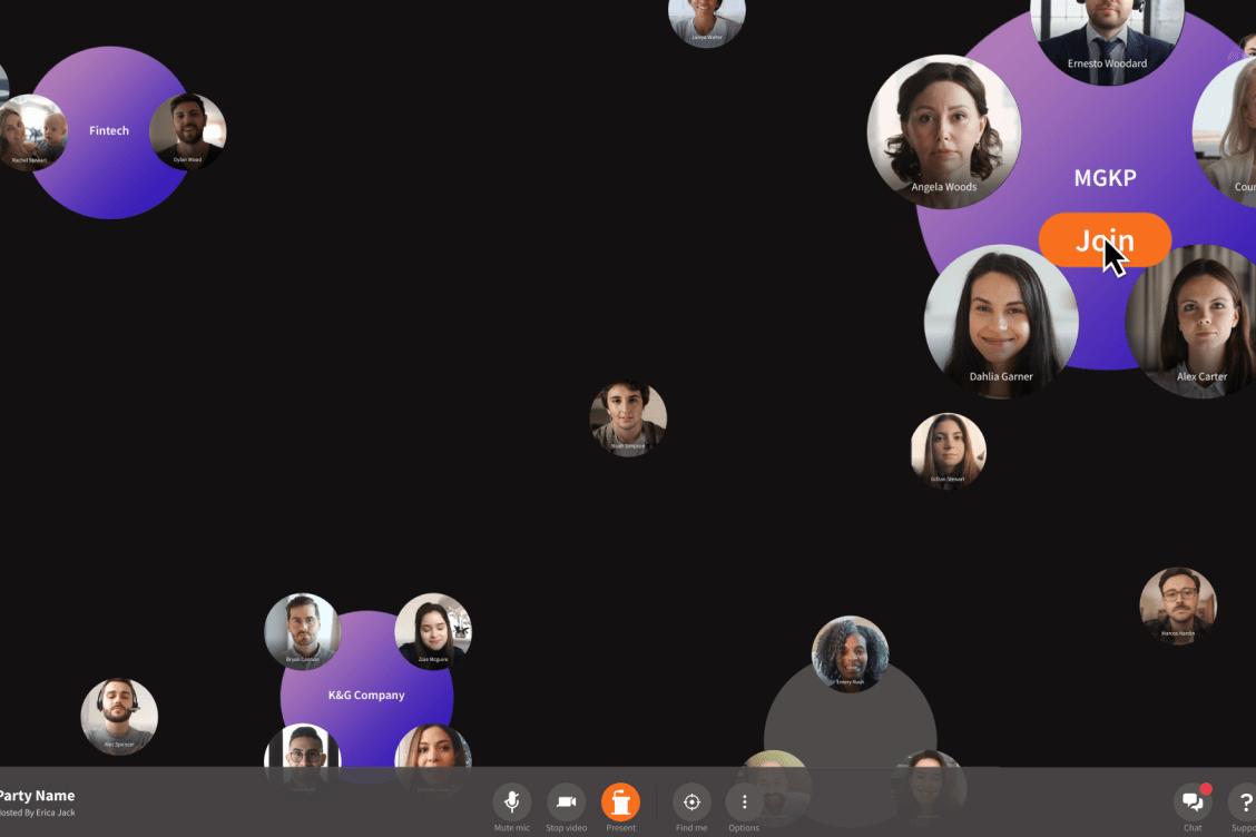 Toucan virtual event