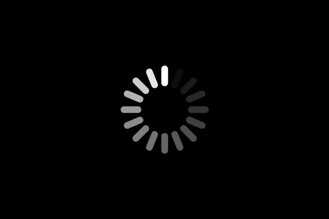 Screen loading icon