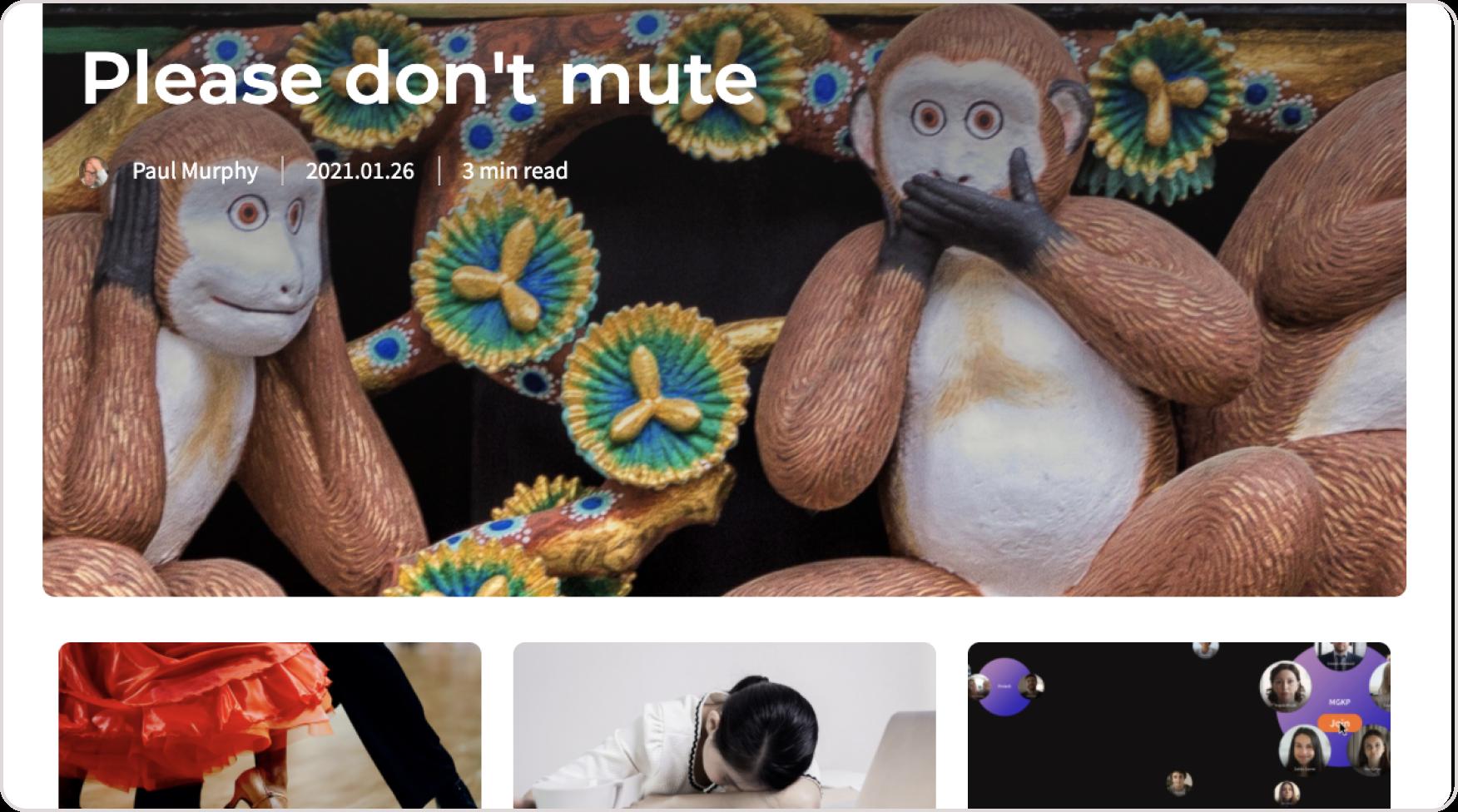 The Toucan Blog