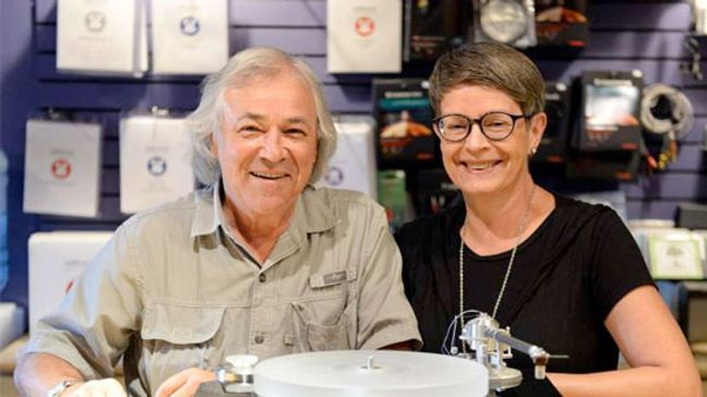 Harry and Pat Sotropa are owners of Harry's Hi-Fi