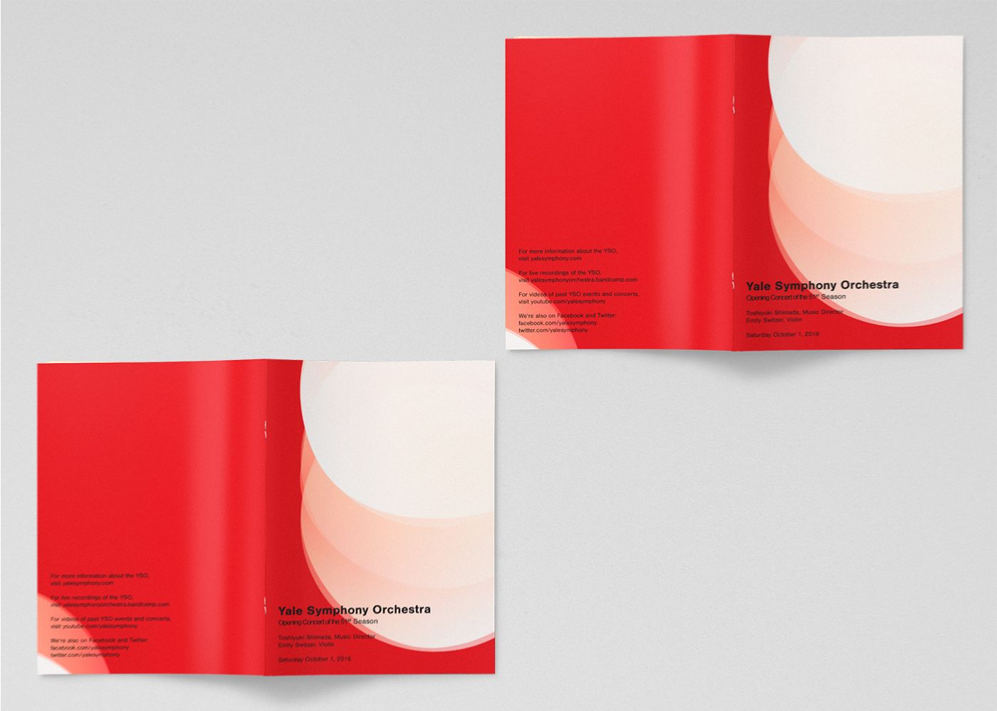 Programs for the 51st Season's Opening Concert