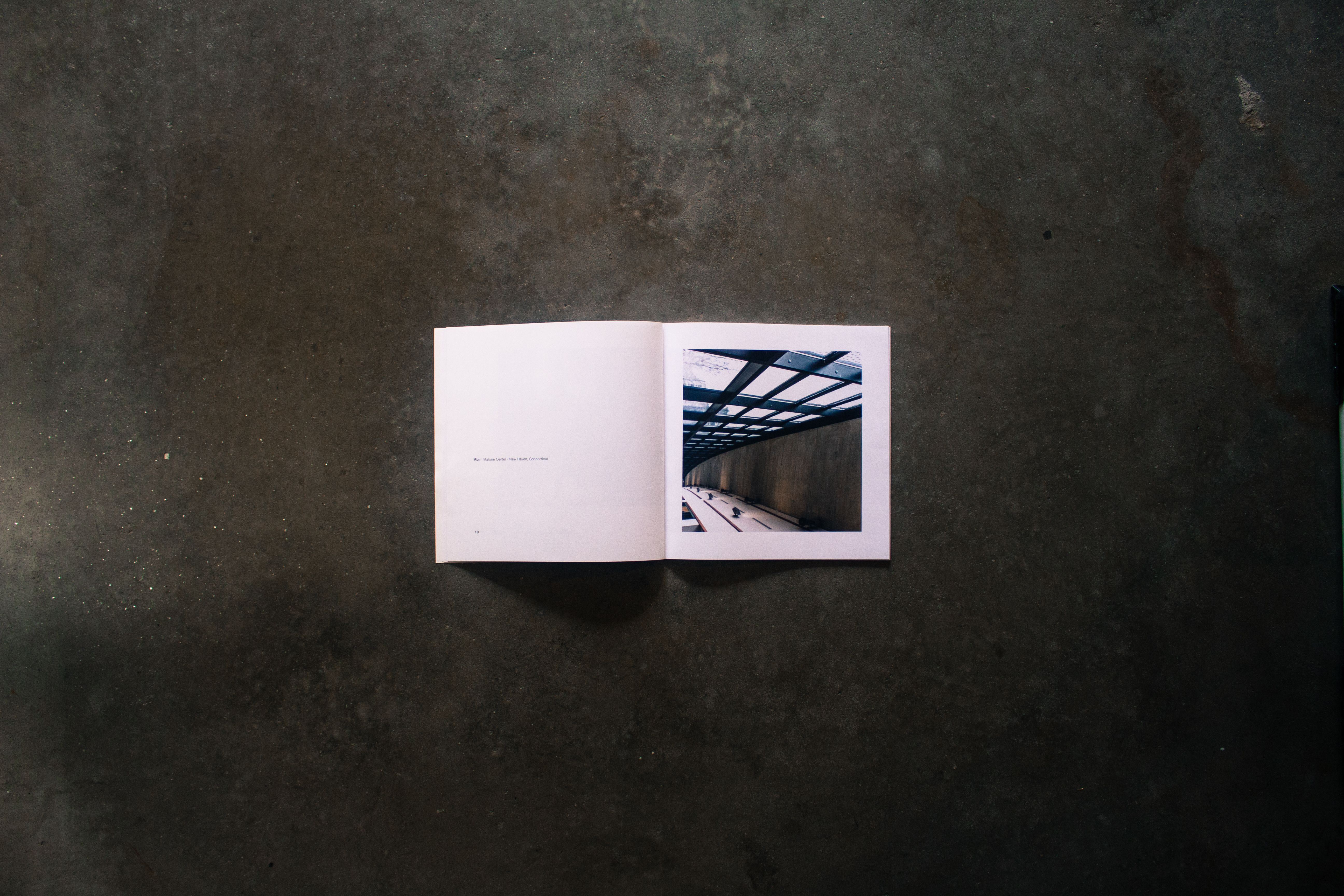 Pages from UP showing an architectural photo of a building.