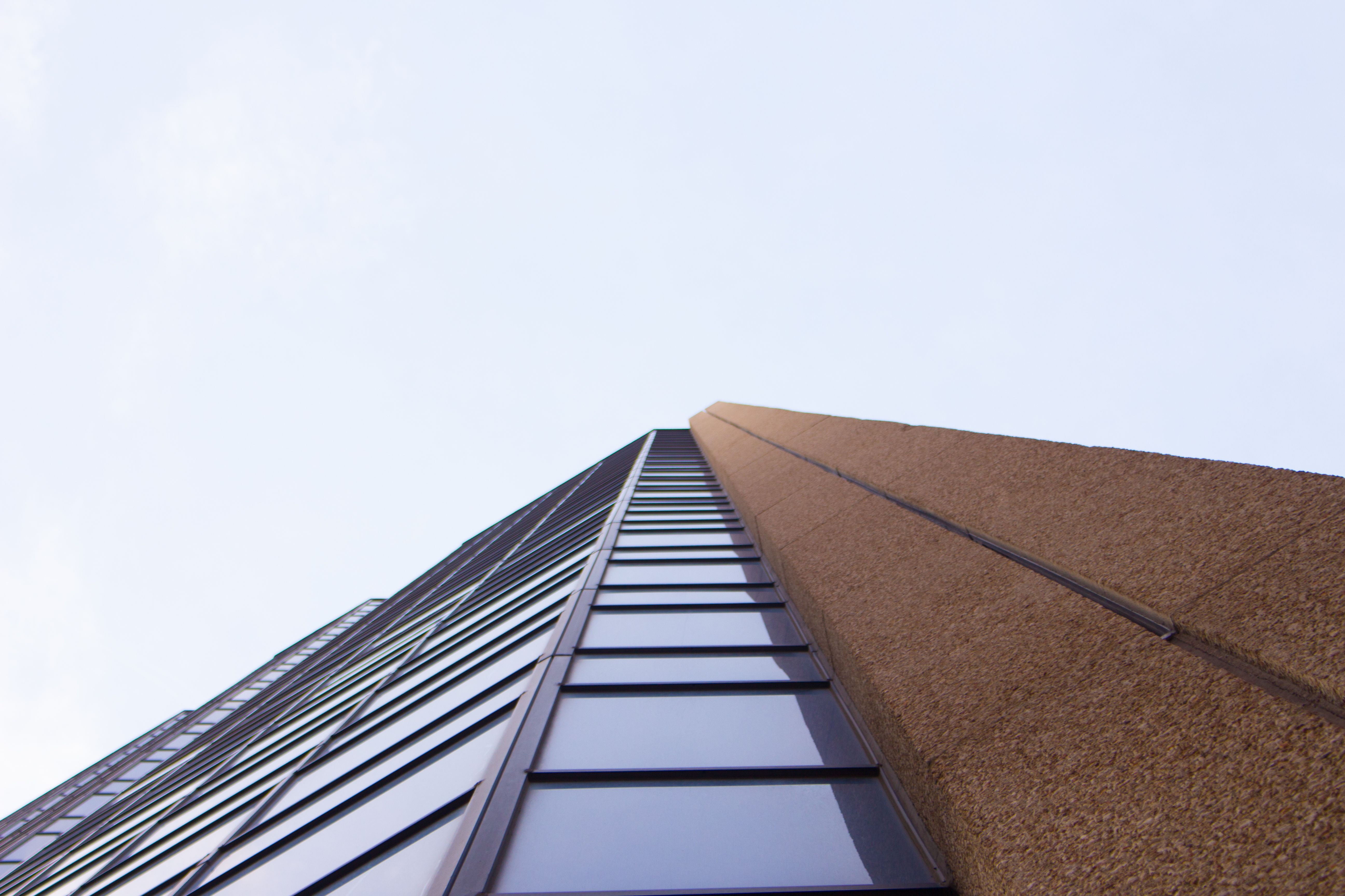An abstract photo of modern architecture.