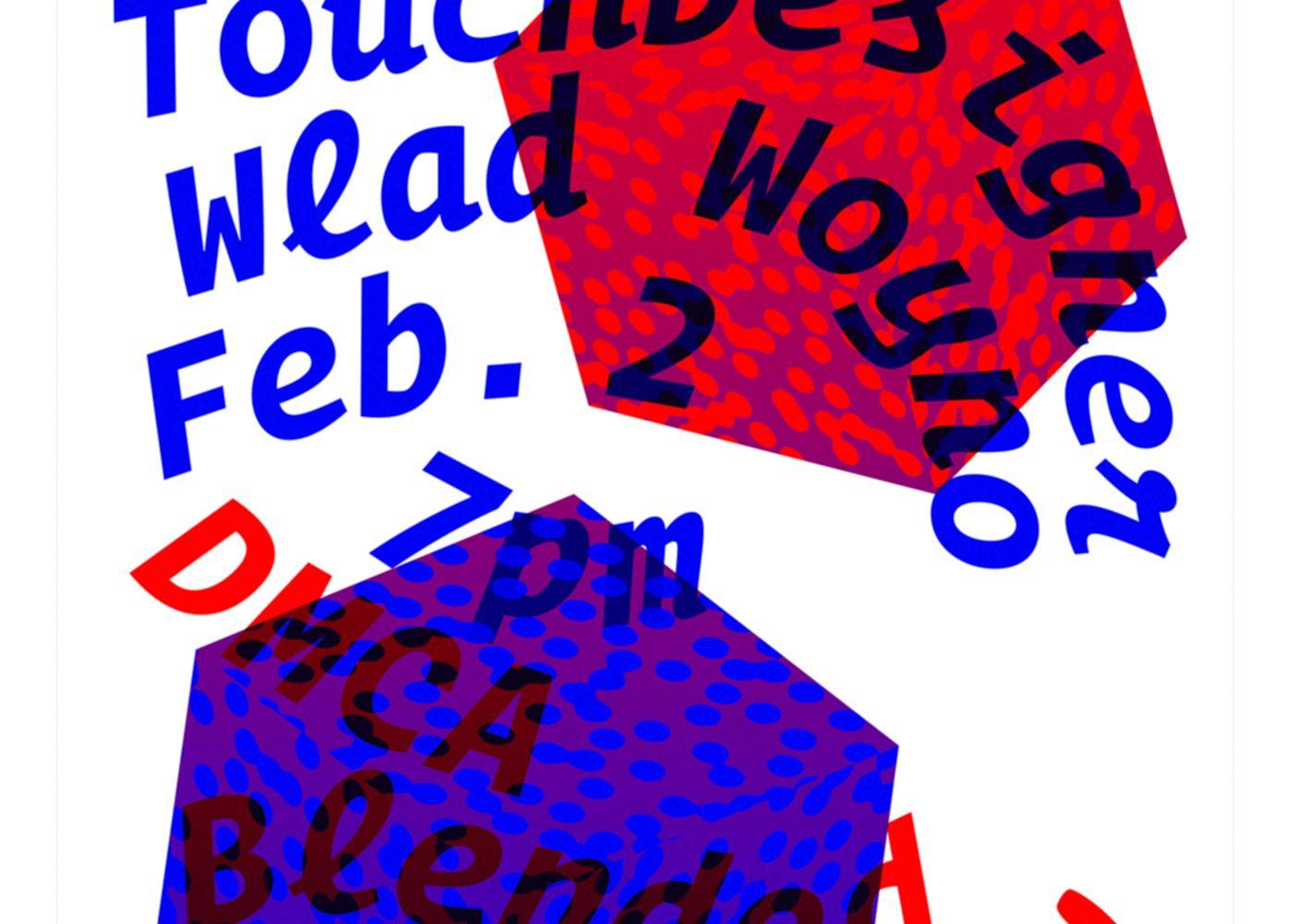 Detail of TouchDesigner poster