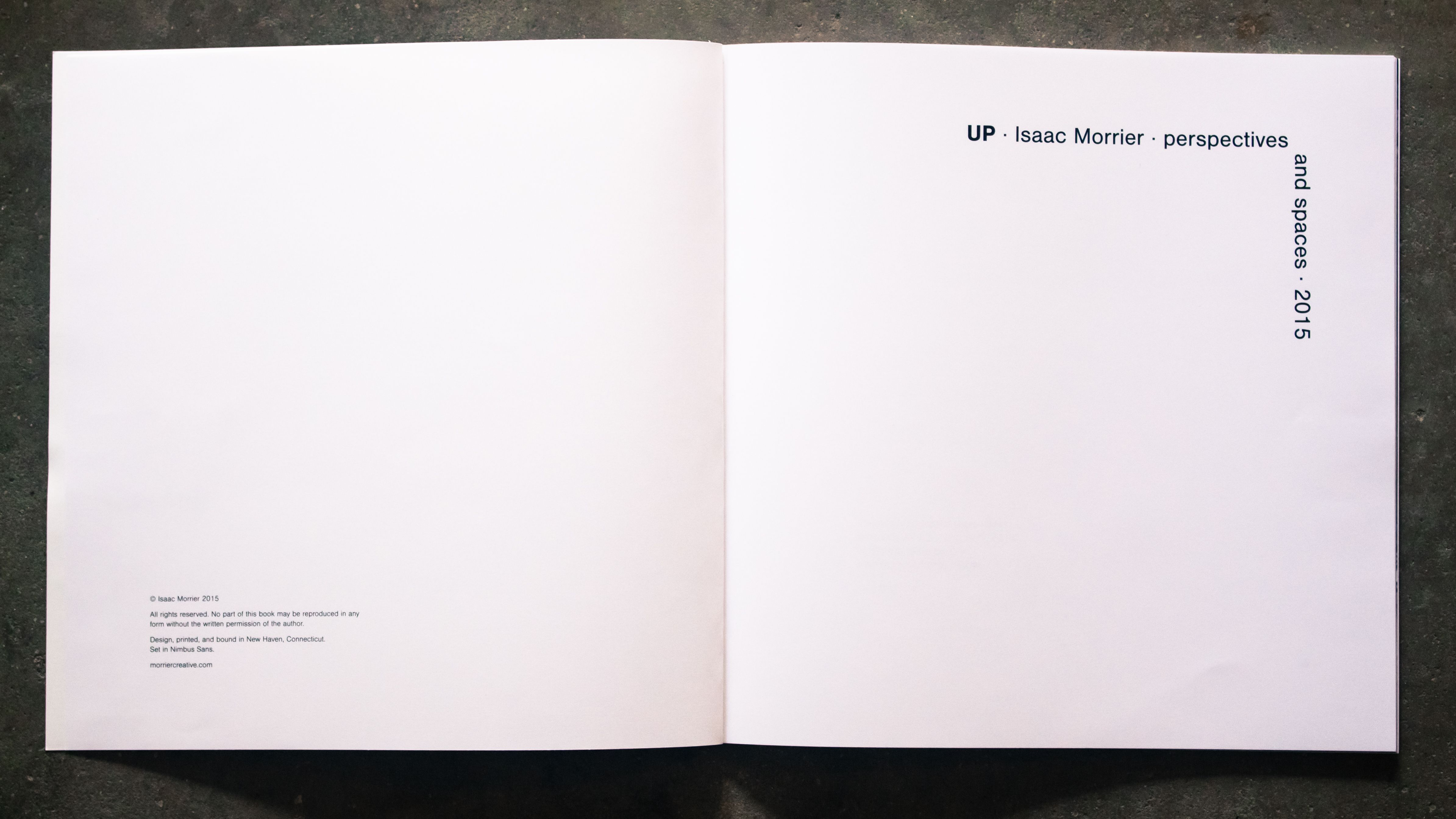 The title page of Up.