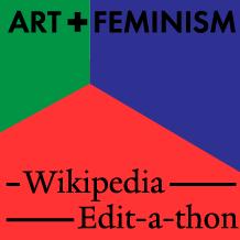 Art+Feminism Wikipedia Edit-a-thon Icon