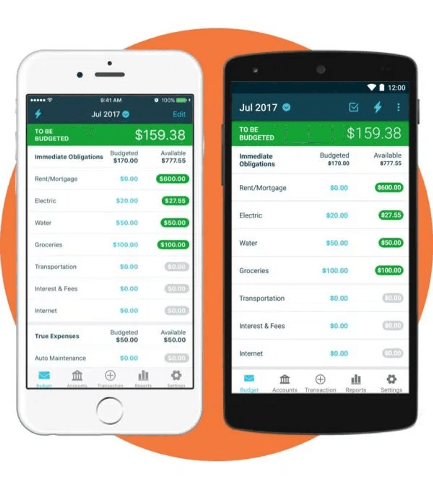 Application mobile You Need A Budget