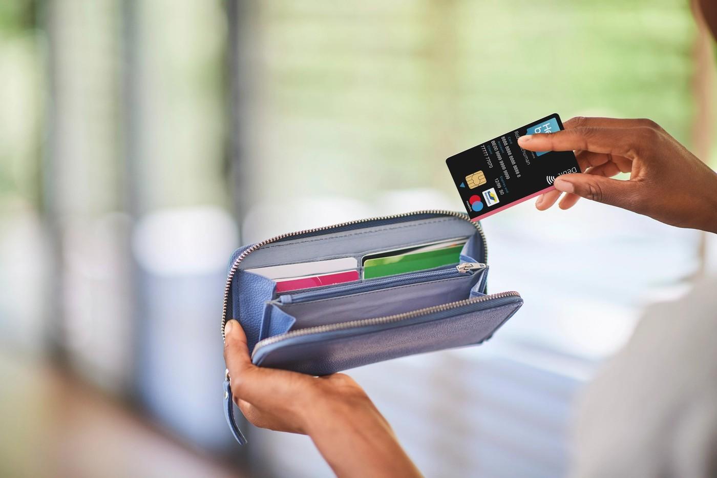 Carte de débit Hello bank!