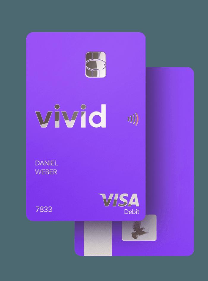 Une carte Vivid Money