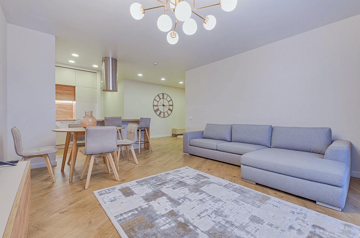 Intérieur d'un appartement en investissement locatif