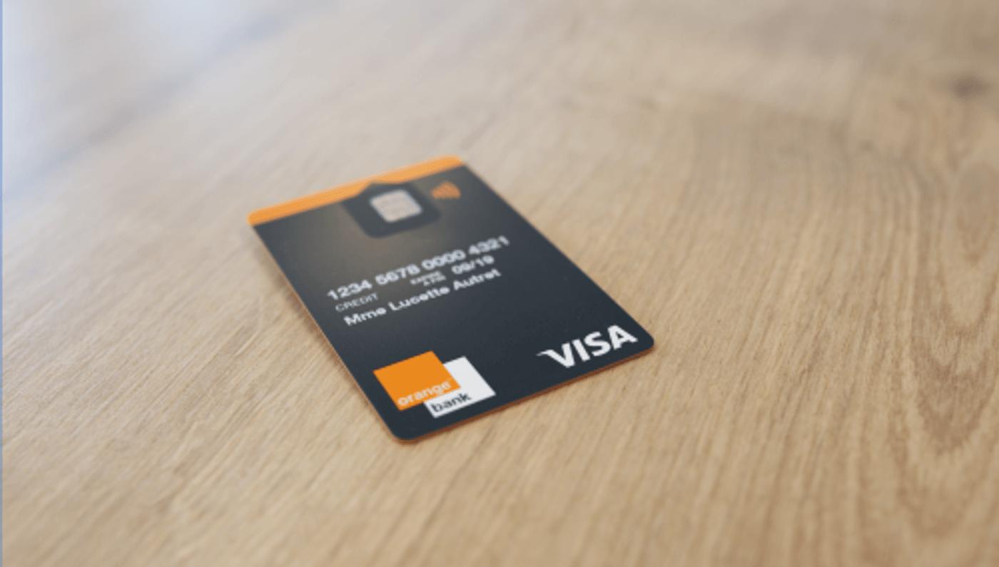 Carte de paiement gratuite banque en ligne Orange Bank