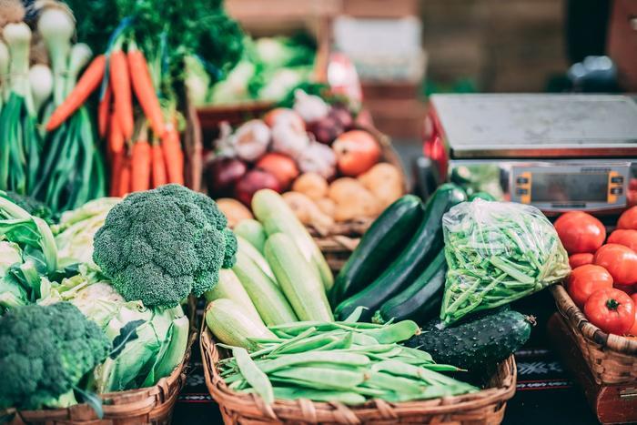Des legumes frais du jardin