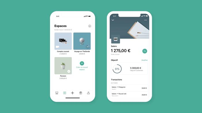 Screenshot interface application N26